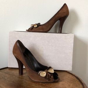 MOSCHINO Brown Heel